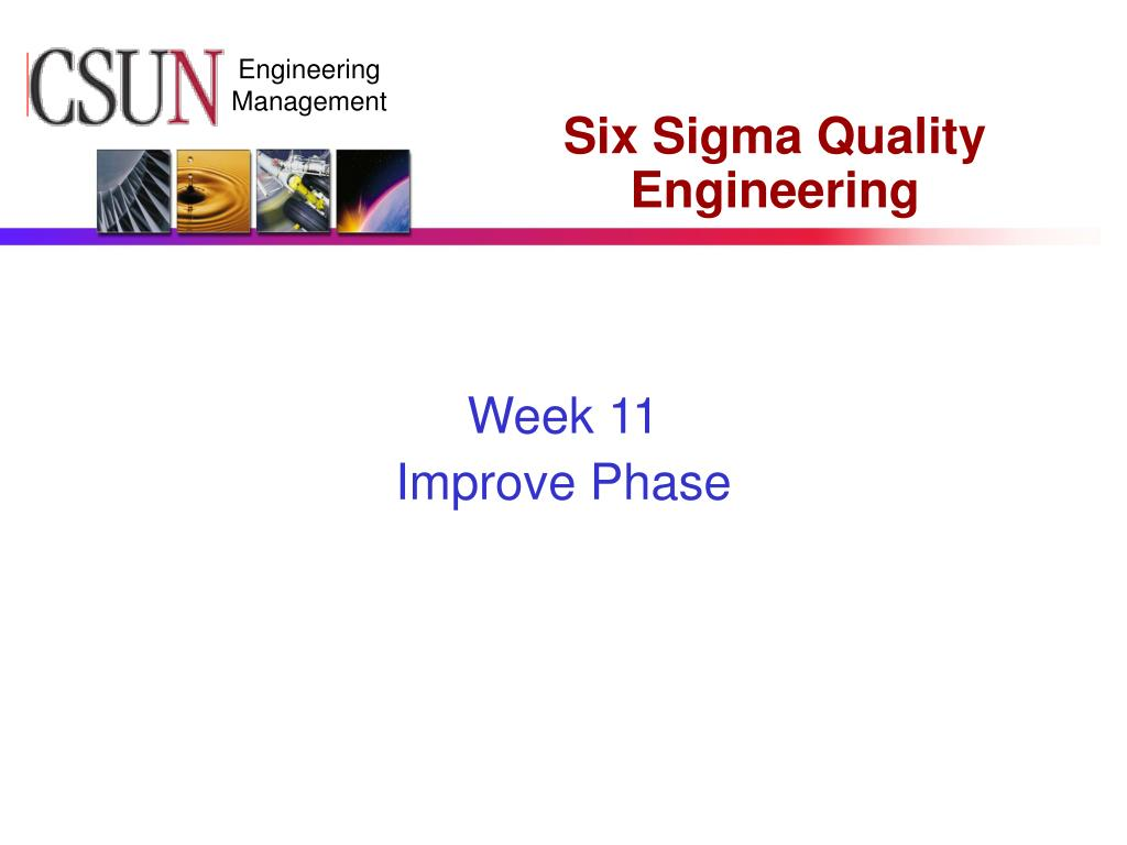 six sigma quality engineering l.