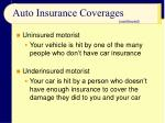 auto insurance coverages31