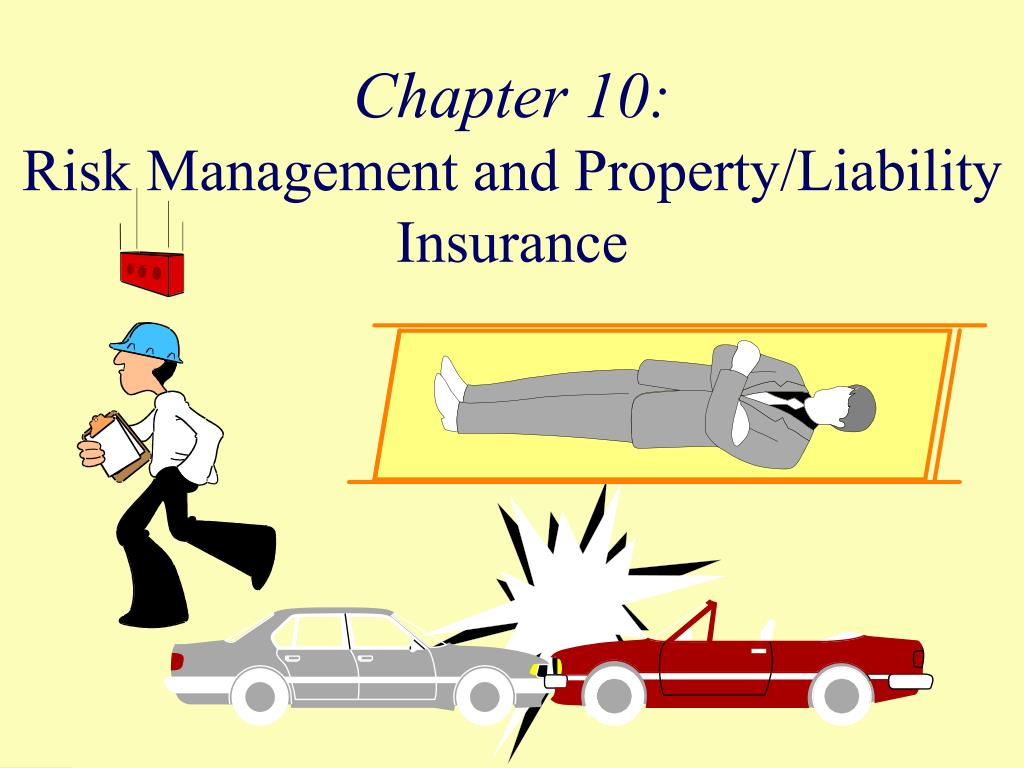 chapter 10 risk management and property liability insurance l.