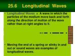 25 6 longitudinal waves