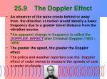 25 9 the doppler effect