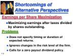 shortcomings of alternative perspectives9