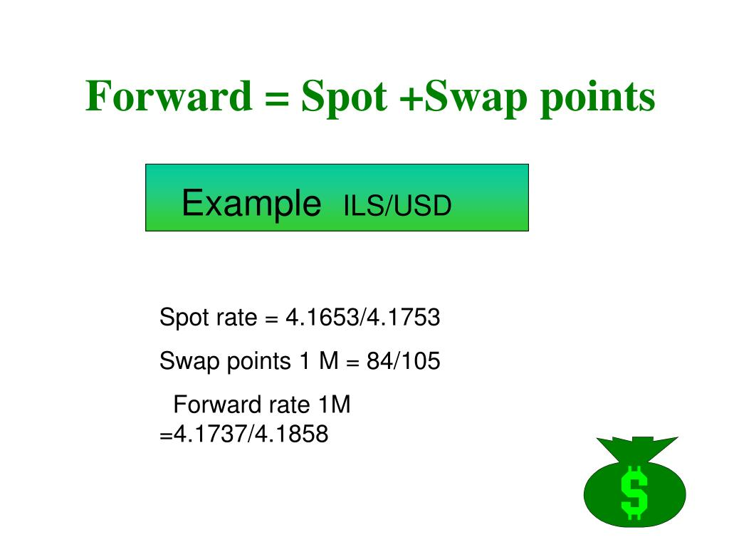 forward spot swap points l.