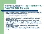 volume 352 issue 9144 12 december 1998 pages 1923 1926 the lancet