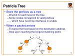 patricia tree