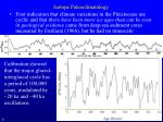 isotope paleoclimatology