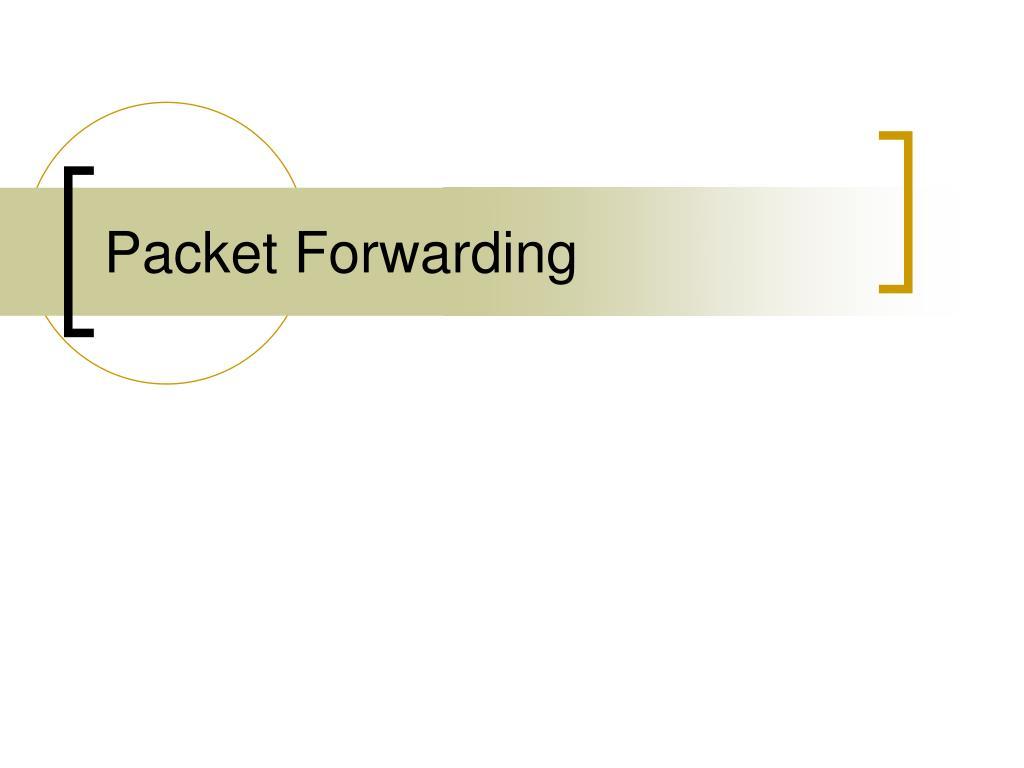 packet forwarding l.