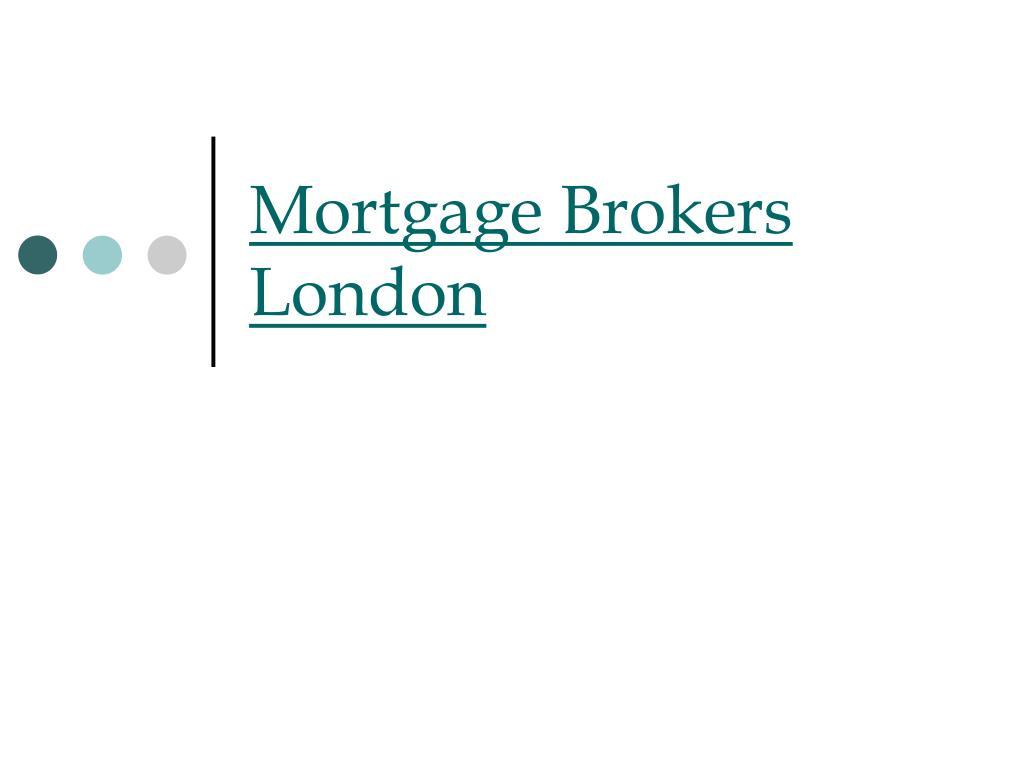 mortgage brokers london l.