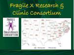 fragile x research clinic consortium