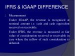 ifrs igaap difference62