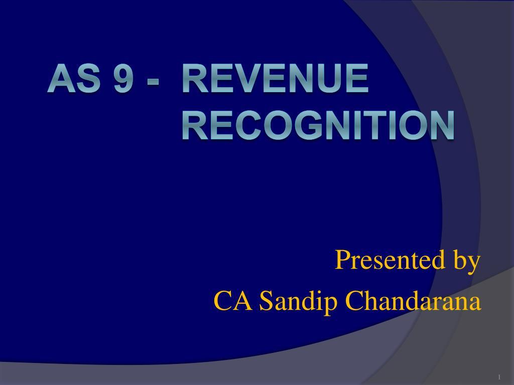 presented by ca sandip chandarana l.