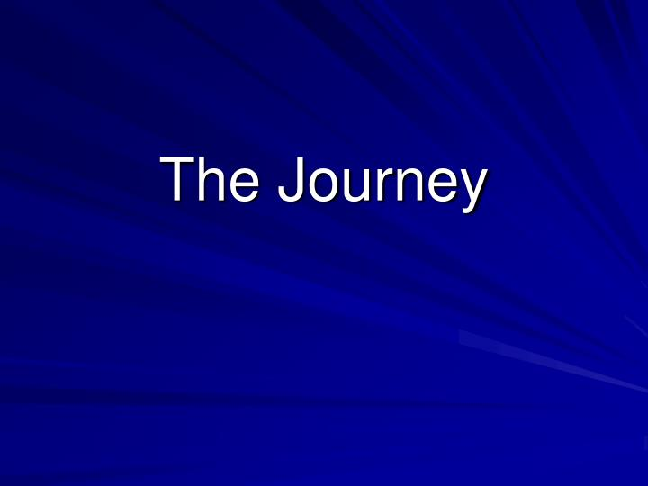 the journey n.