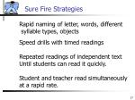 sure fire strategies17