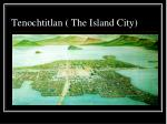 tenochtitlan the island city