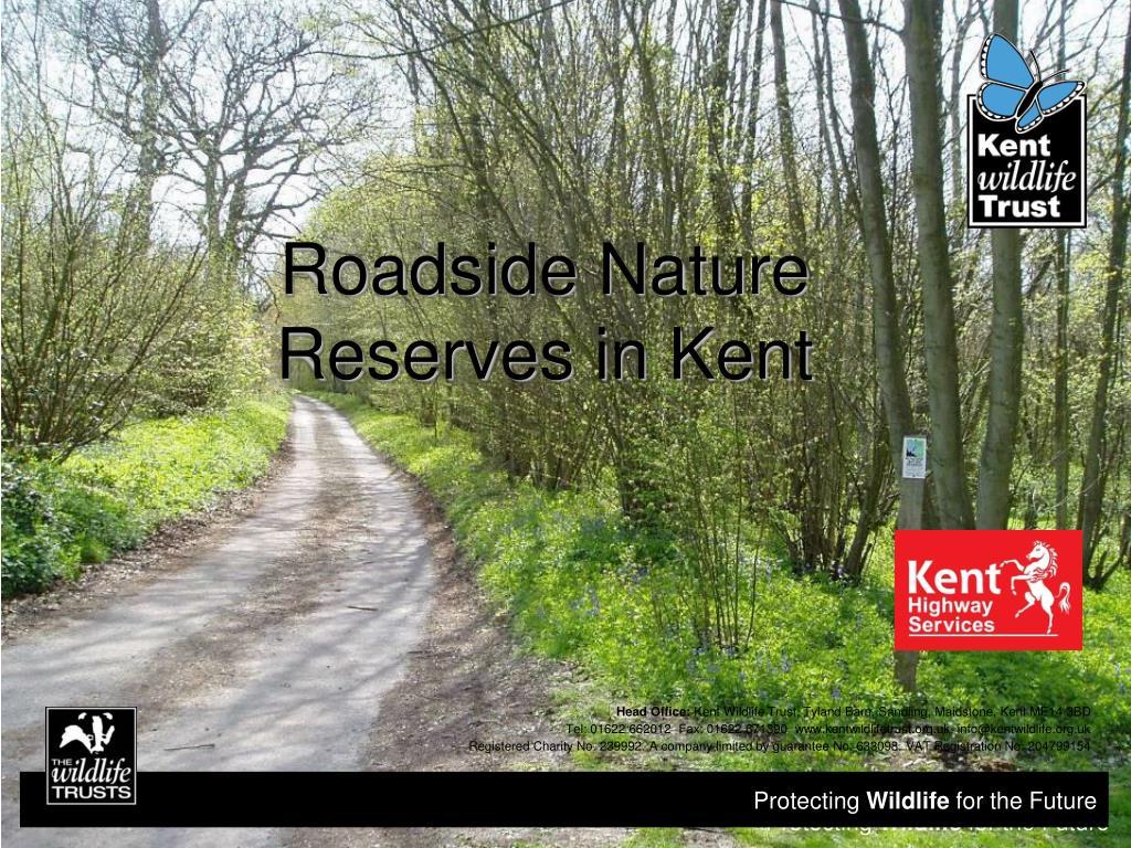 roadside nature reserves in kent l.