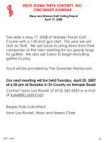ways and means golf outing report april 19 2008