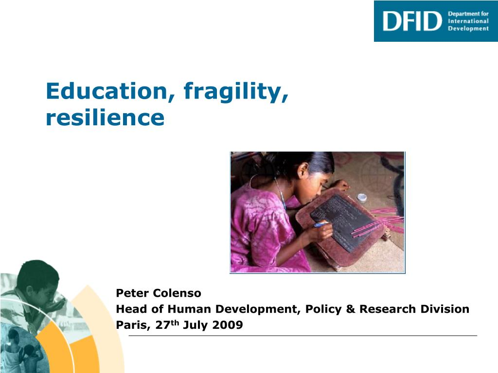 education fragility resilience l.