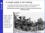 a simple guide to oil refining