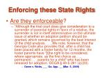 enforcing these state rights34