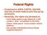 federal rights