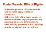 foster parents bills of rights16