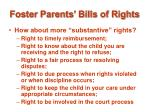 foster parents bills of rights17
