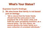what s your status6