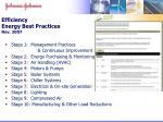efficiency energy best practices rev 2007