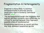 fragmentation heterogeneity14