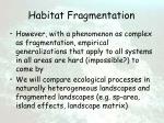 habitat fragmentation5