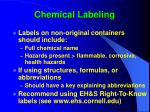 chemical labeling33