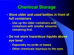 chemical storage39
