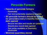 peroxide formers