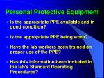 personal protective equipment16