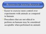 reasons for animal research111
