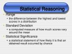 statistical reasoning97