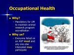 occupational health