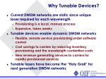 why tunable devices