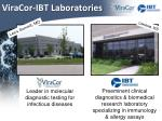 viracor ibt laboratories