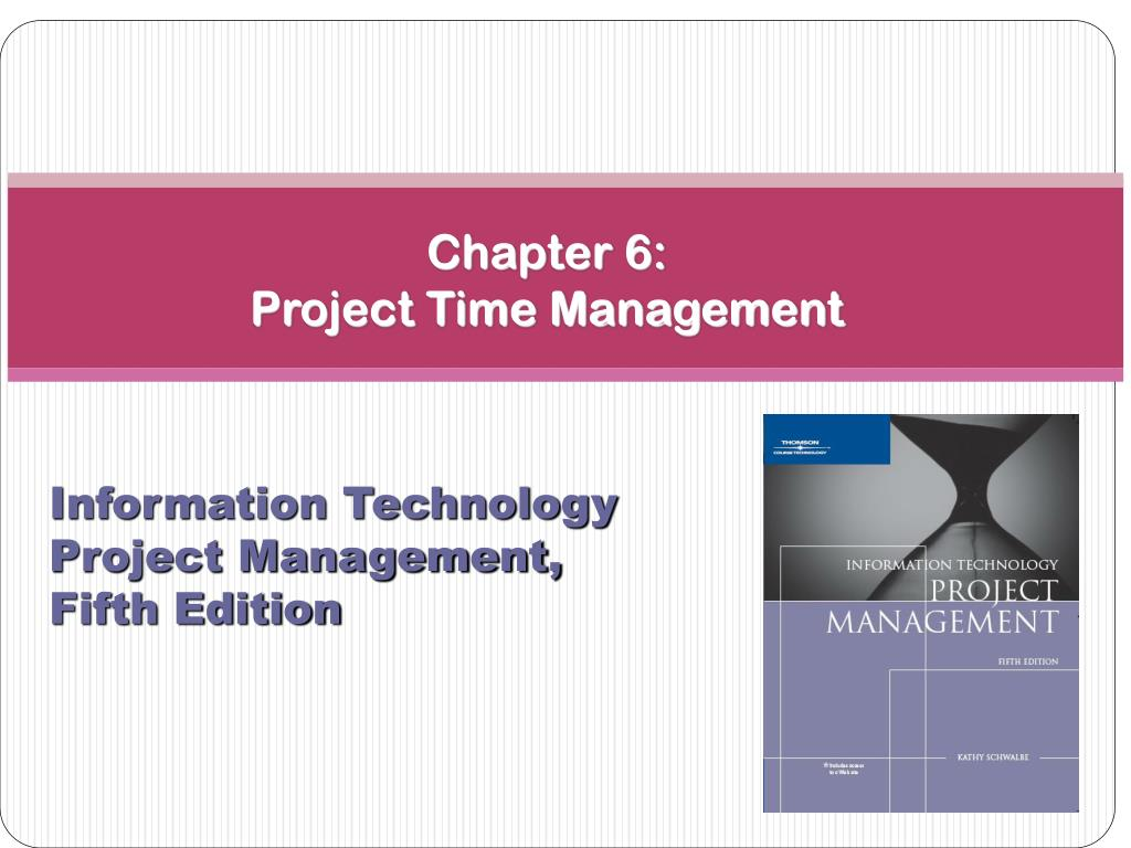 chapter 6 project time management l.