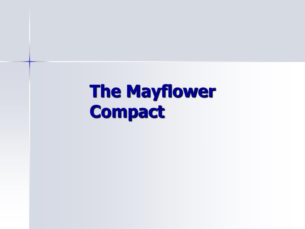 the mayflower compact l.