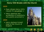henry viii breaks with the church8