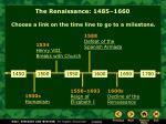 the renaissance 1485 1660