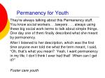 permanency for youth