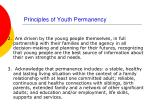 principles of youth permanency16