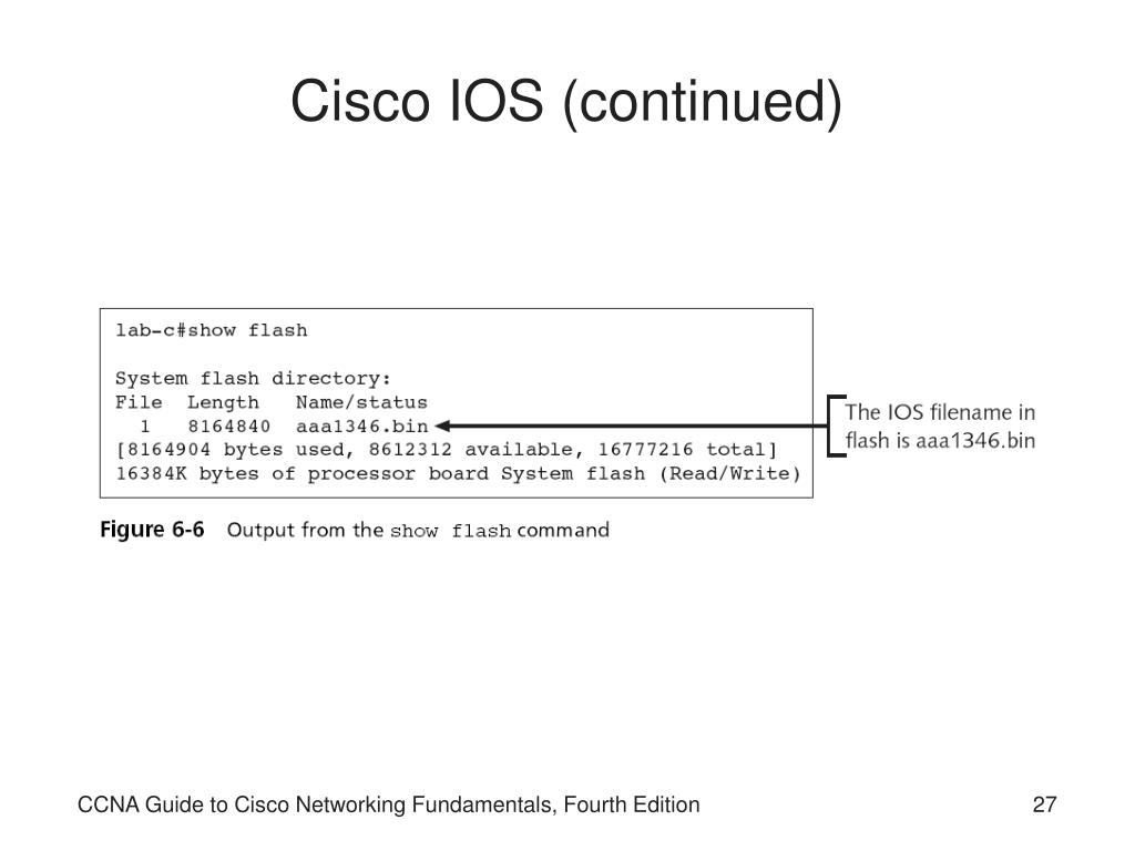 Cisco Show Flash