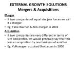 external growth solutions mergers acquisitions17