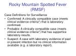 rocky mountain spotted fever rmsf14
