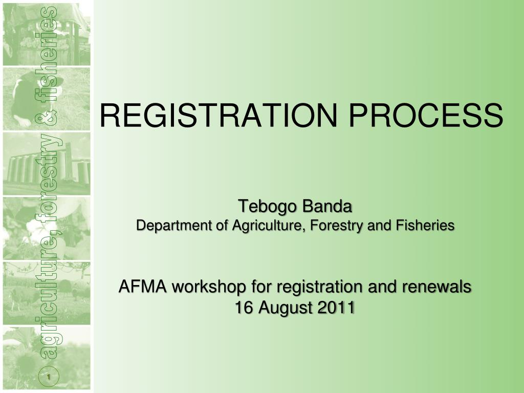 registration process l.