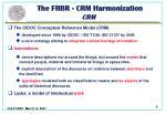 the frbr crm harmonization crm